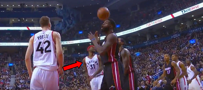 Terrence Ross Throws up INSANE Trick Shot vs Miami Heat (VIDEO)
