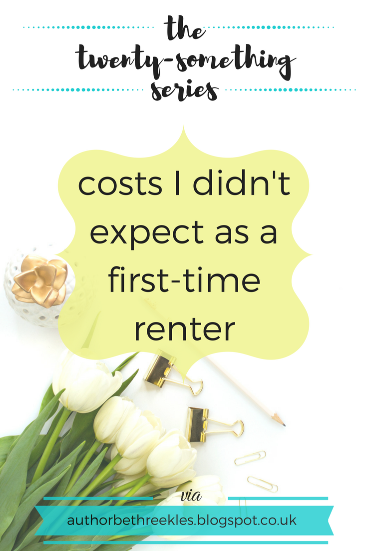 Renting for the first time is pretty nerve-wracking, and there are a lot of costs I didn't expect. In this post, I share a few things you have to think about when you start renting.