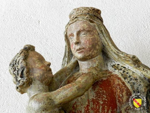 TOUL (54) - Musée d'Art et d'Histoire : Vierge à l'Enfant d'Aingeray