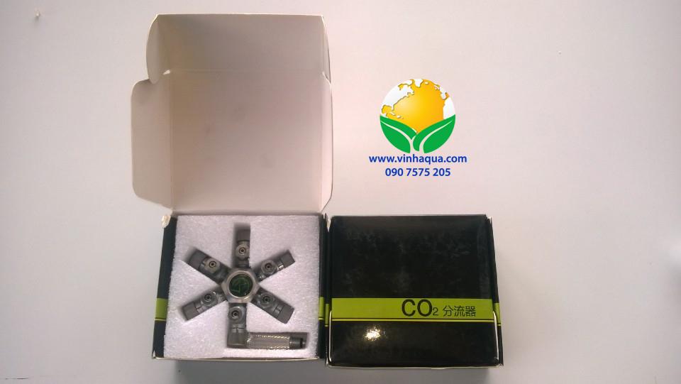 Van chia 6 cho bình CO2