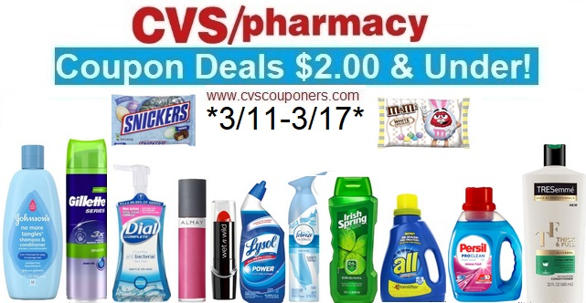 e53b8587721 CVS Couponers: CVS Coupon Deals $2.00 & Under! (3/11-3/17)