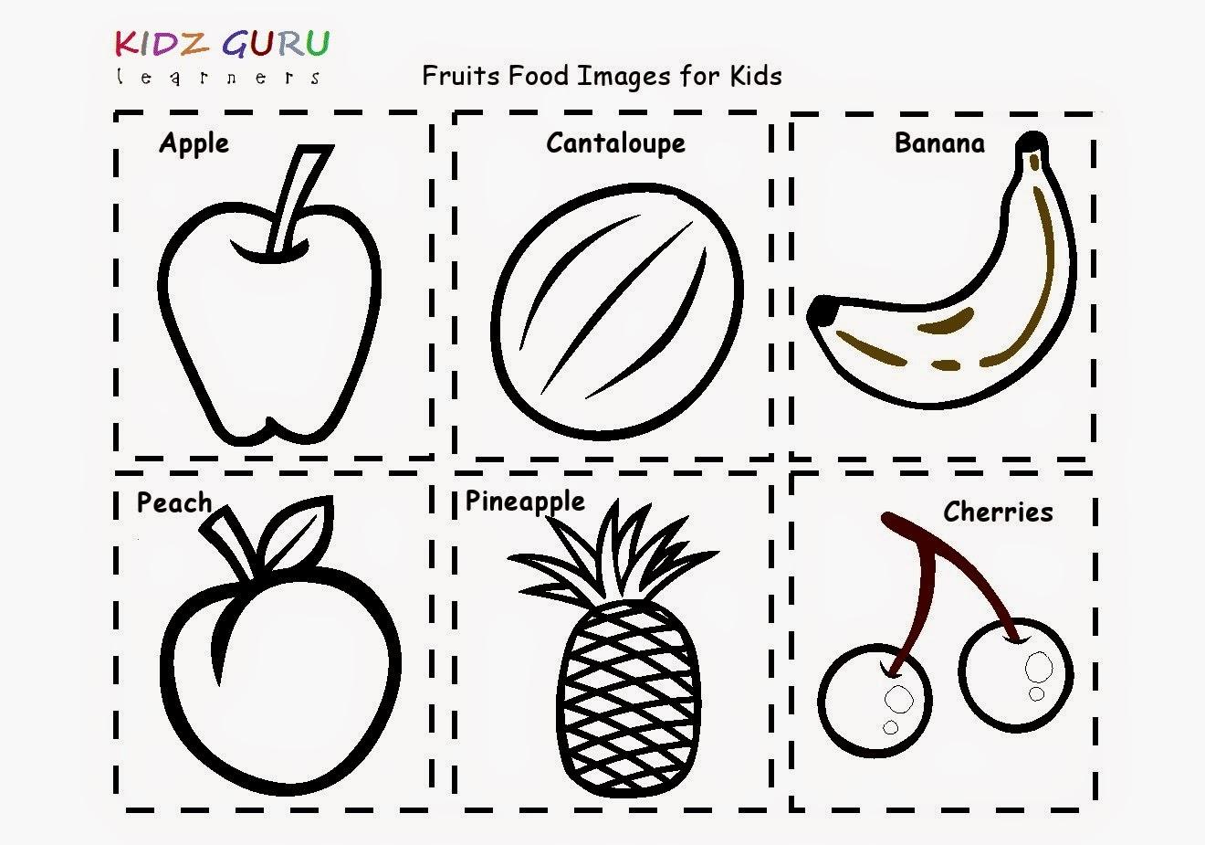 Kindergarten Worksheets: PRINTABLE.....Colouring