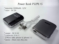 Souvenir Power Bank -P52PL15