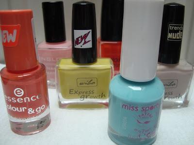 Jakie kolory królują na moich paznokciach tej wiosny?