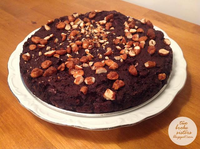 wegańskie brownie z czerwonej fasoli twobrokesisters