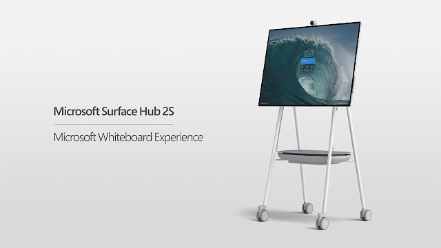 Microsoft Surface Collaboration 2S computer was announced with a 50-inch screen