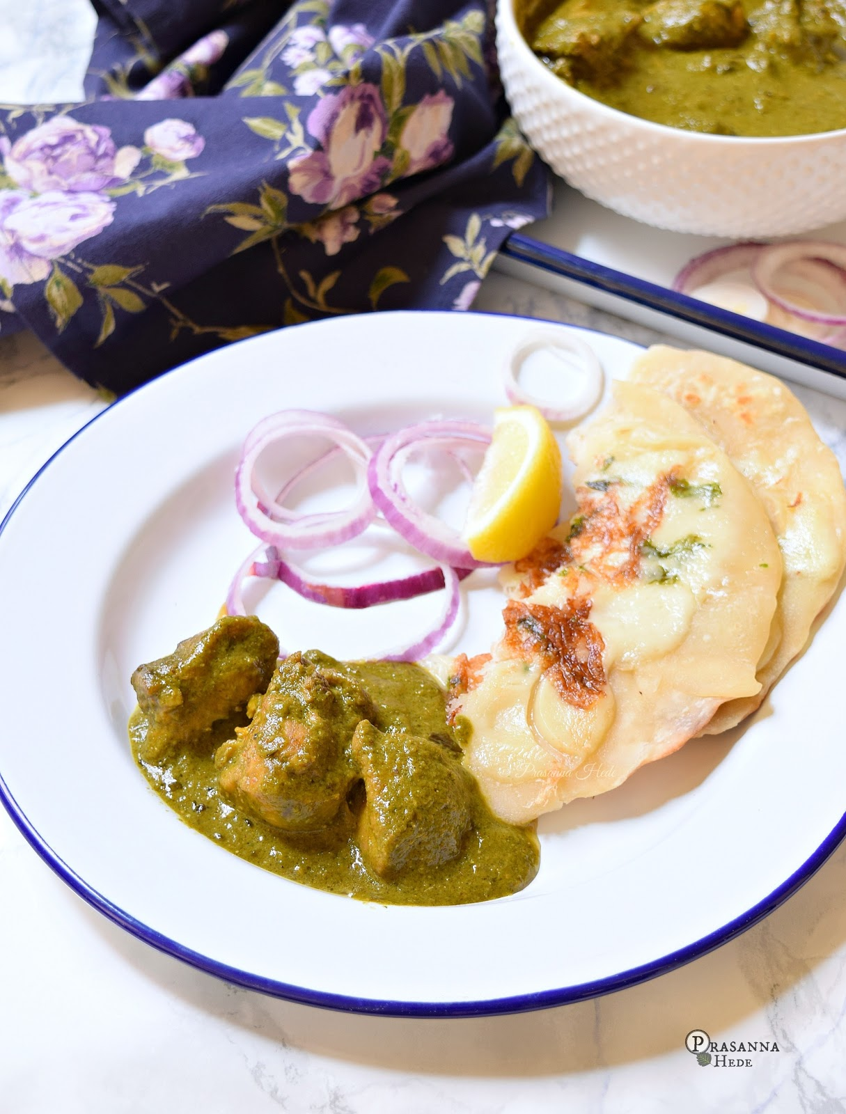 Palak Saagwala Chicken Recipe
