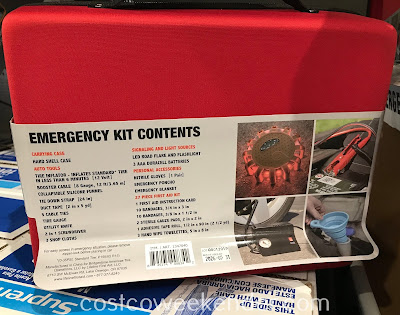 Costco 1347040 - Bridgestone Emergency Kit: great for any car