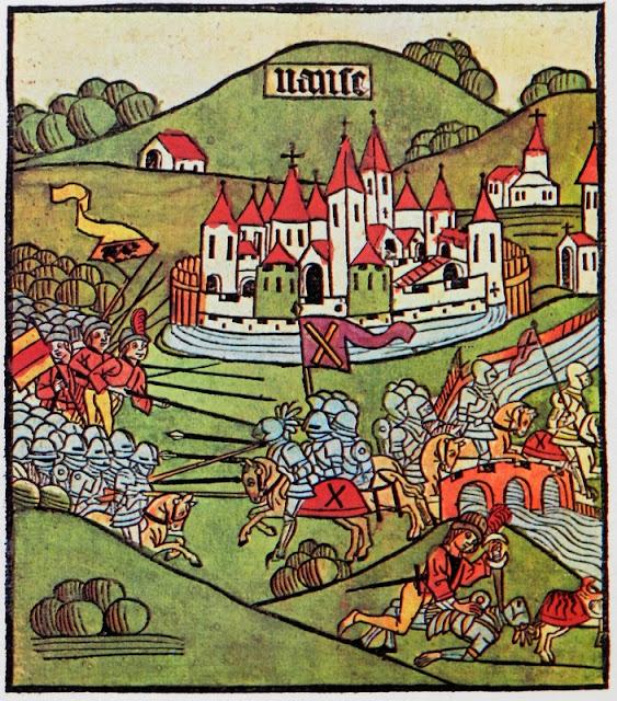 LA BATAILLE DE NANCY - 5 janvier 1477