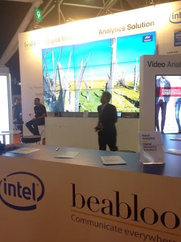 圖片說明: Beabloo ISE 攤位,圖片來源: by JJ Jan