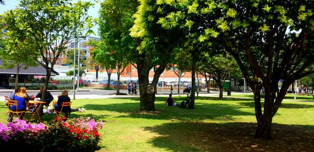Parque de La 93, Chapinero, Bogotá