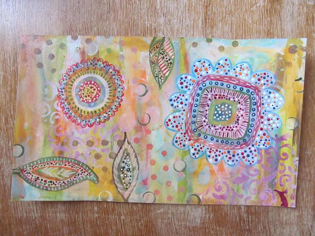 ,art journal,mixed media,hilla bushari,fimo,polymer clayמיקסד מדיה,ז'ורנל ארט, ציור על נייר,העברה לפימו, העברה לחימר פולימרי,הילה בושרי, hillovely