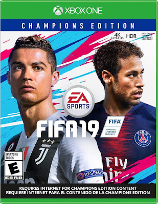 Fifa 19 Game Cover Xbox One Champions Edition