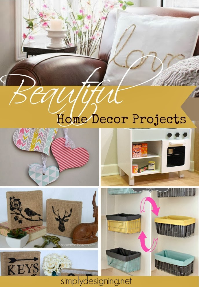 14 beautiful home decor projects diy homedecor decorating - Diy Home Decor Projects