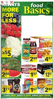 Great Prices Food Basics flyer Toronto valid Aug 10 - 16, 2017
