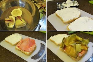 foto preparazione Ricetta sandwich invernale per bambini
