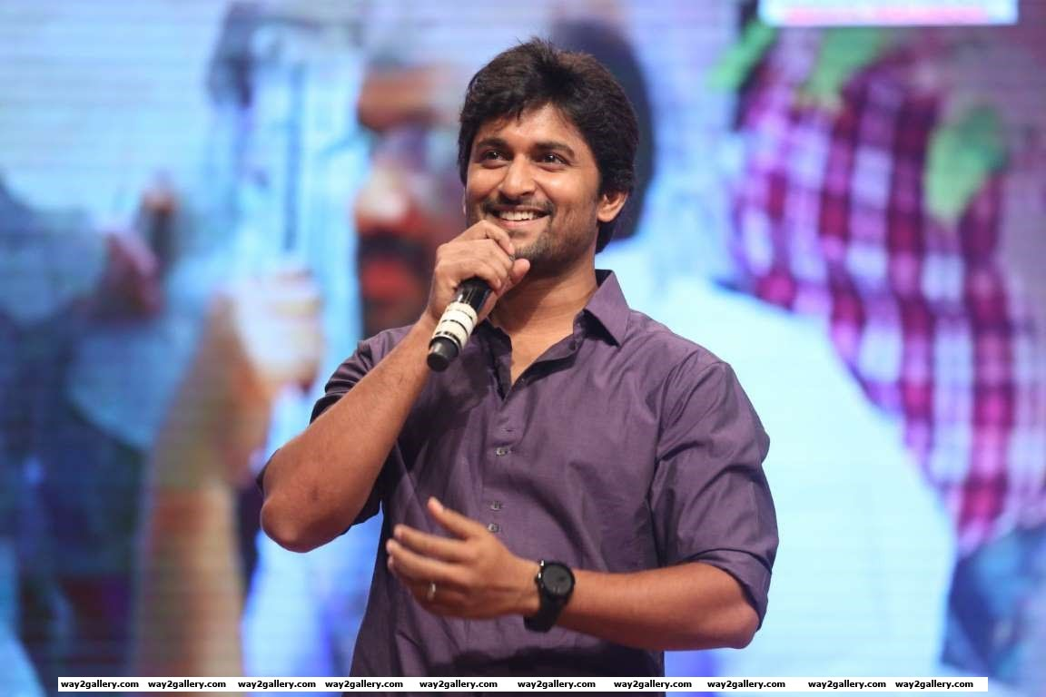Telugu actor Nani was present at the audio launch of Babu Bangaram