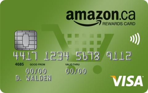 amazon rewards card canada