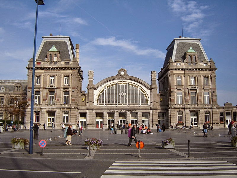 10 Best Places to Holiday in Belgium (100+ Photos) | Oostende Railway Station