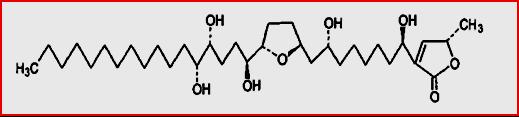 strukur senyawa annopentocin A