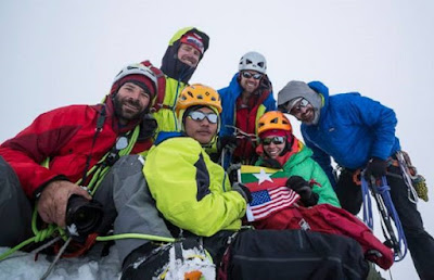 Team expedisi Gamlang Razi gabungan pendaki amerika dan burma
