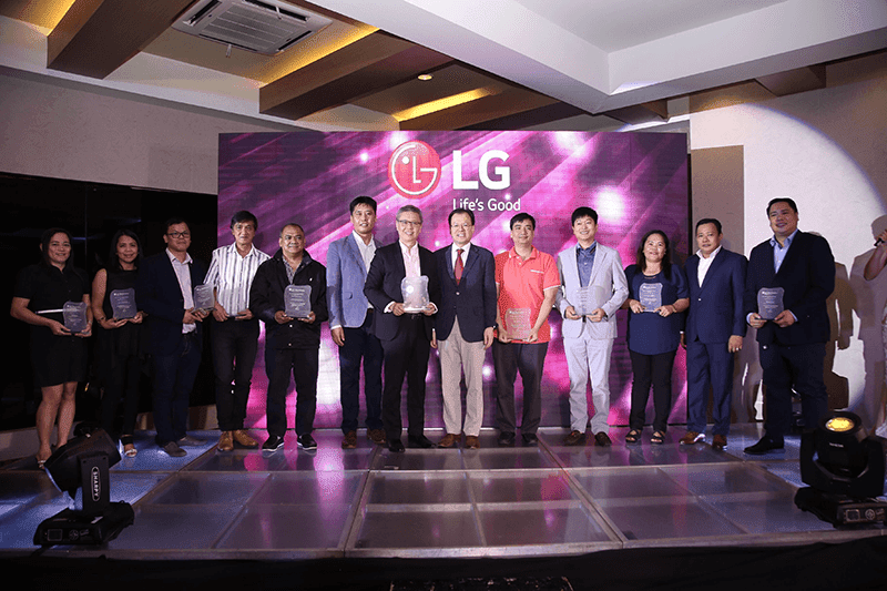 LG recognized retail-partners at System Aircon & Energy Partners Convention