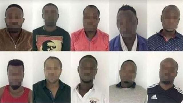 19 nigerians arrested atm robberies uae