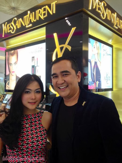 Beauty Event - Romancing with YSL (Yves Saint Laurent) Gusnaldi Hasil Make Up