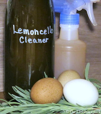 Lemoncello Enzyme Cleaner as it is made using primarily lemon rinds and the end result is alcohol.