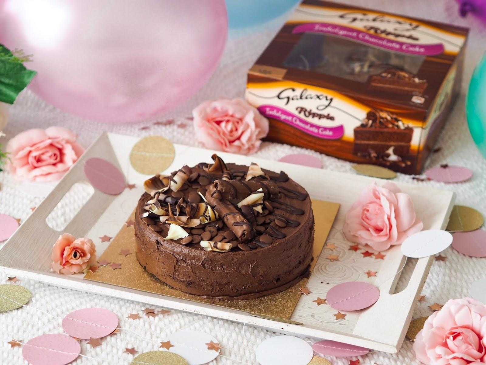 Celebrating Everyday with Galaxy, Galaxy Chocolate Cake, UK Food Blogger, UK Blogger, UK Lifestyle Blogger, Katie Kirk Loves
