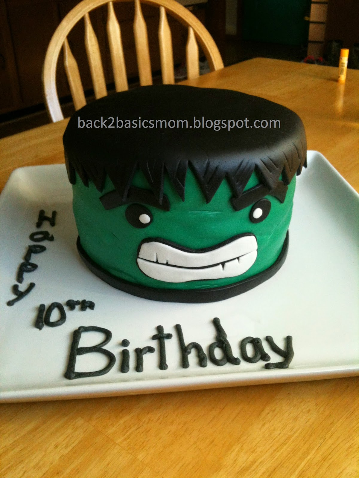 Back to basics cakes i have made my boy turned 10 a few weeks back and he requested an avengers cake hulk is his favorite so in favor of relative simplicity i went with it maxwellsz