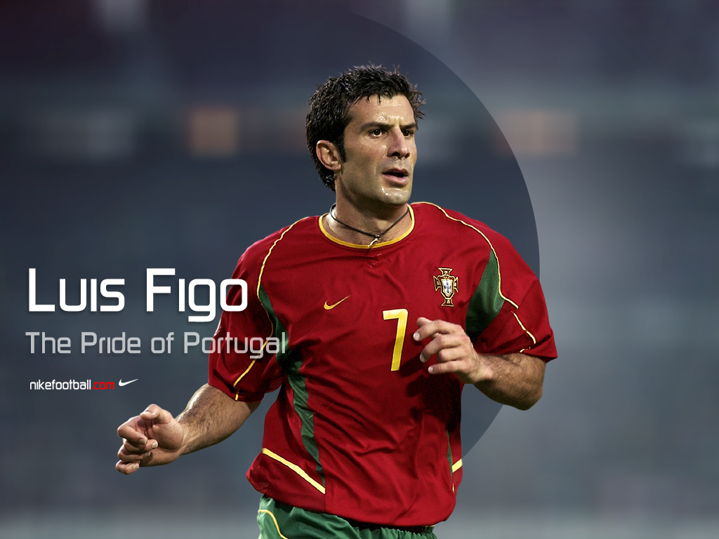 quality design f5aff 4da65 famous personalities: Luis Figo