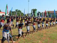 Peringatan Hari Jadi Kabupaten Rembang Dimeriahkan dengan Tari Orek-orek