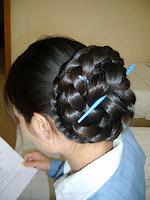 HairStyle Gallery Elegant Braided Bun long hair photo gallery