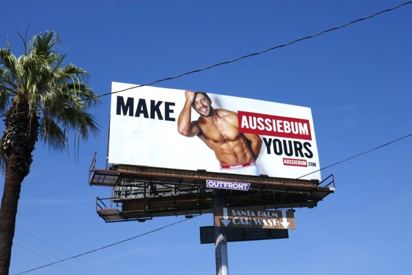 Make AussieBum Yours billboard