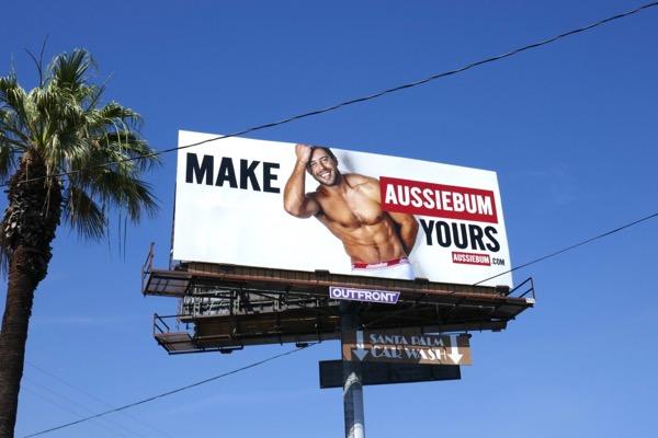 Make AussieBum Yours billboard