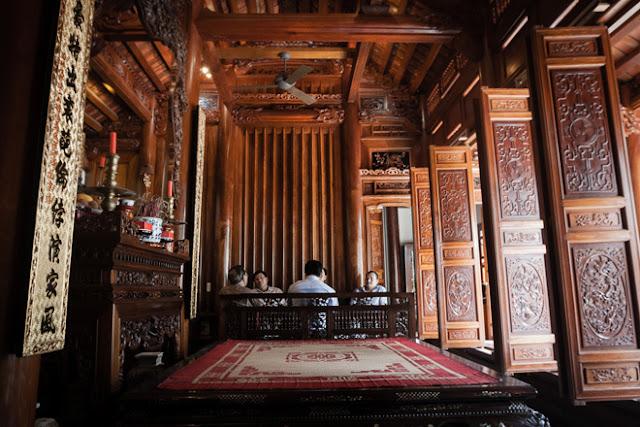 nhà gỗ 5 gian gỗ lim
