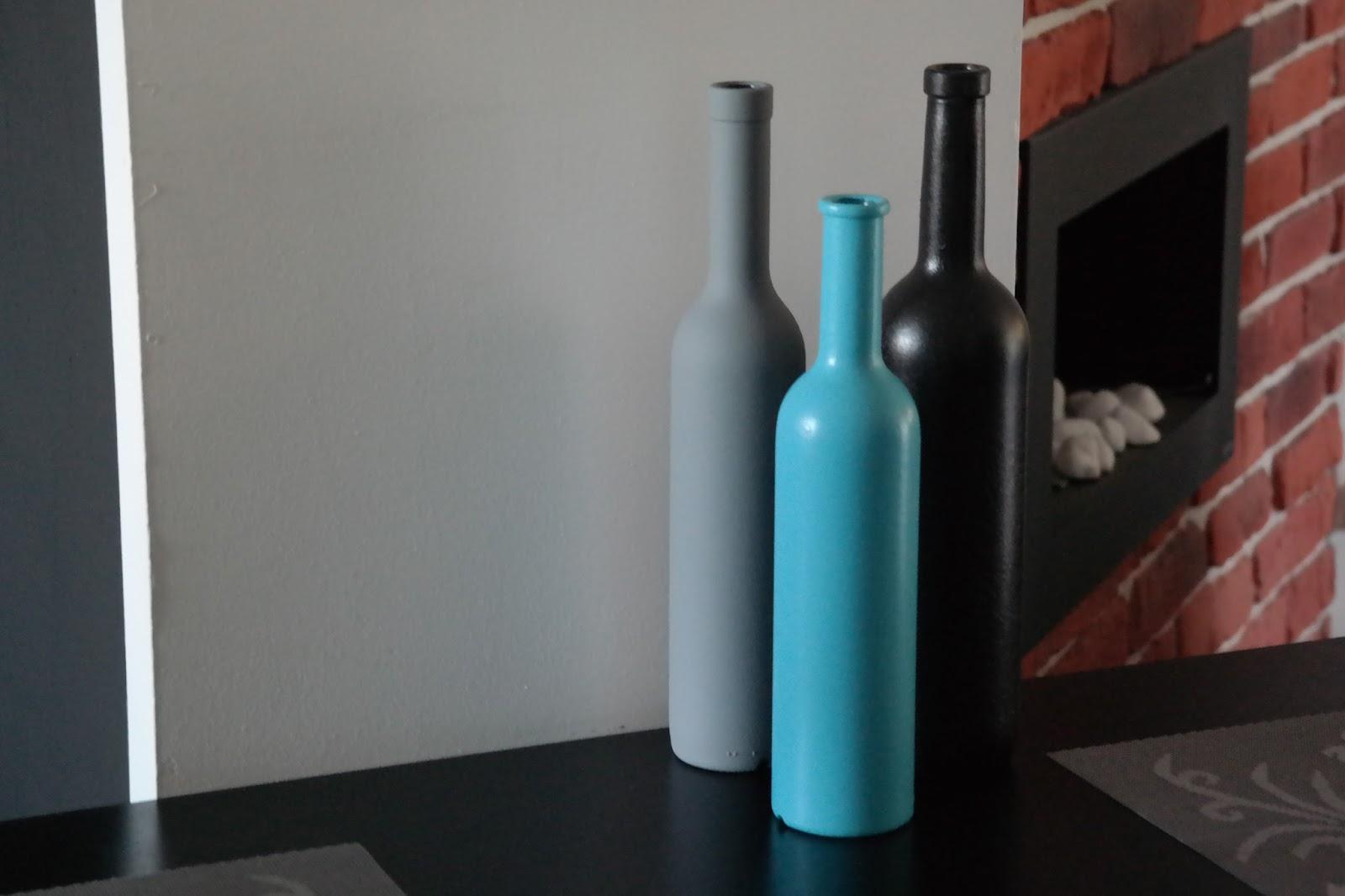 Malowanie butelek czyli recyklingowe ozdoby - DIY