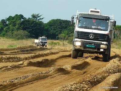 Reisen Afrika Republik Kongo Piste