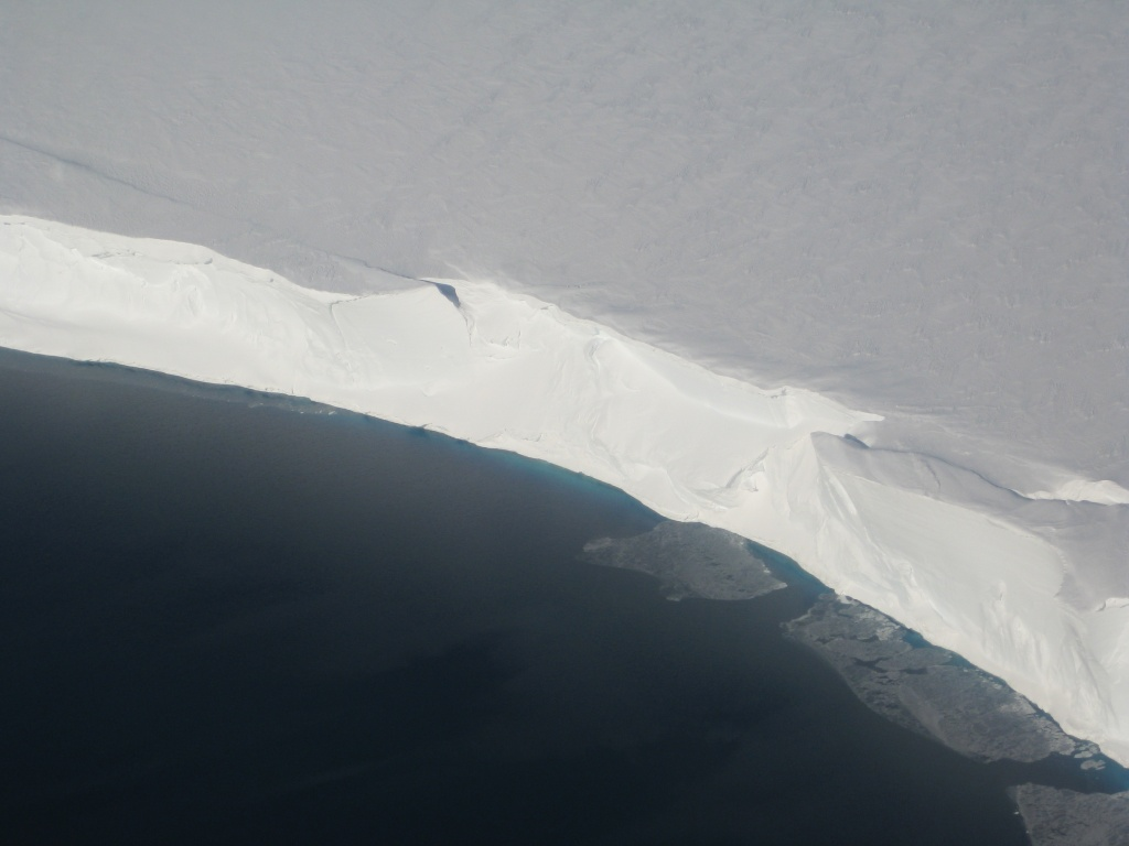 Antarctic Ice Shelves Not Melting At All