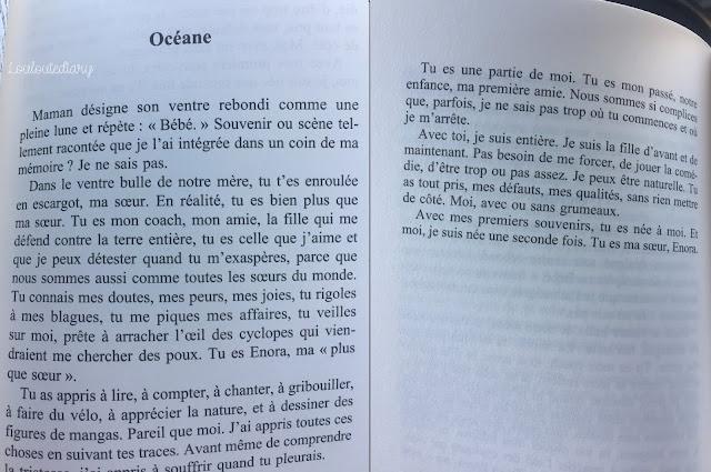 Extrait de L'enfermement de Florence Henry, témoignage sur l'autisme et sur sa fille Océane, publié chez Xo éditions