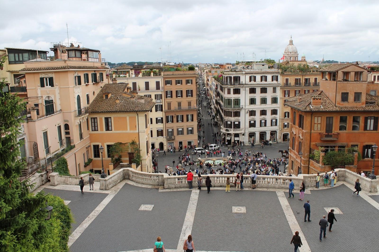 Nadias Und Christians Italien Reise Blog Villa Borghese Spanische Treppe Trevi Brunnen Und Faulenzen