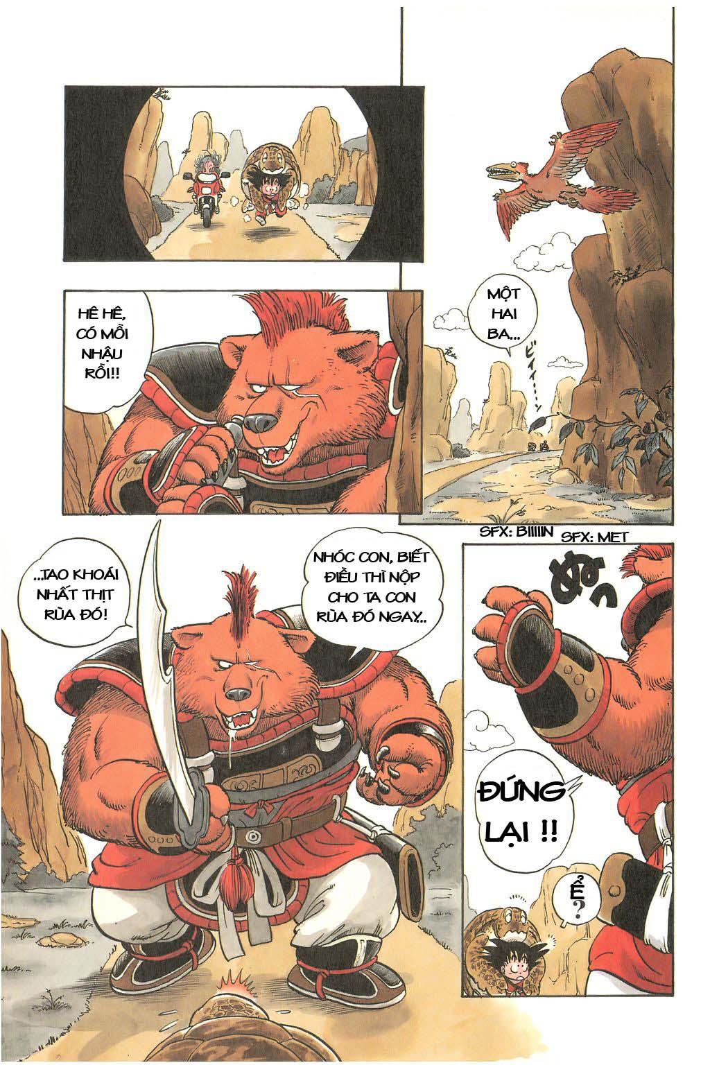 Dragon Ball chap 3 trang 9