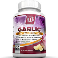 Odorless garlic supplement