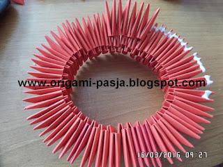 Jak zrobić wazon z origami modułowego?