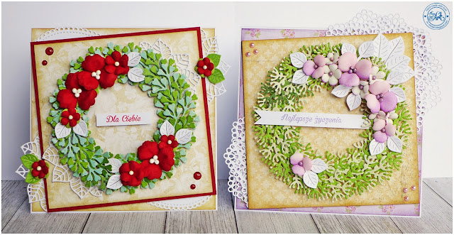 Wianki / Wreaths – DT Craft Passion