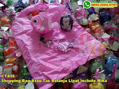 Jual Shopping Bag Atau Tas Belanja Lipat Include Mika