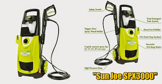 Product Details Sun Joe SPX3000 2030 PSI 1.76 GPM Electric Pressure Washer 14.5-Amp