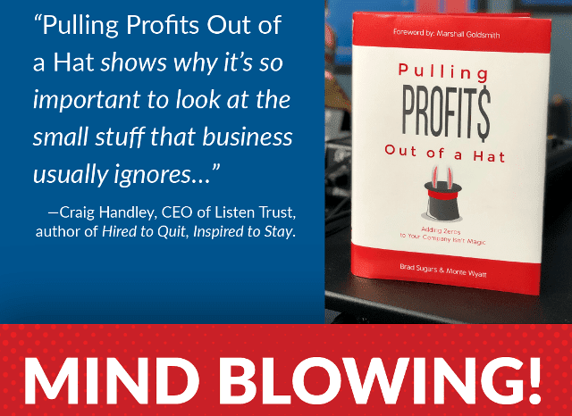 pulling profits book review authors brad sugars monte wyatt coach monte action coach rating