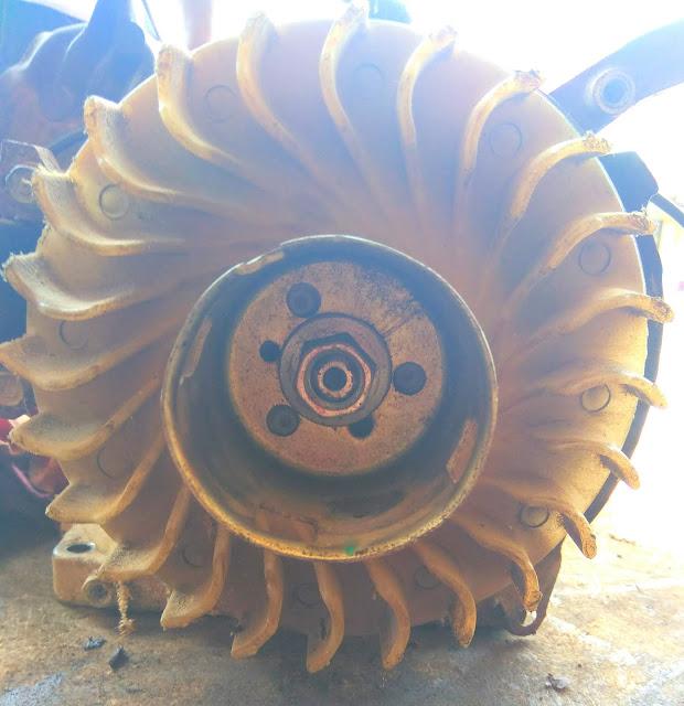 sistem pendingin pada mesin gx 160
